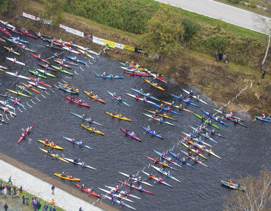 Cesky Krumlov Canoe Marathon