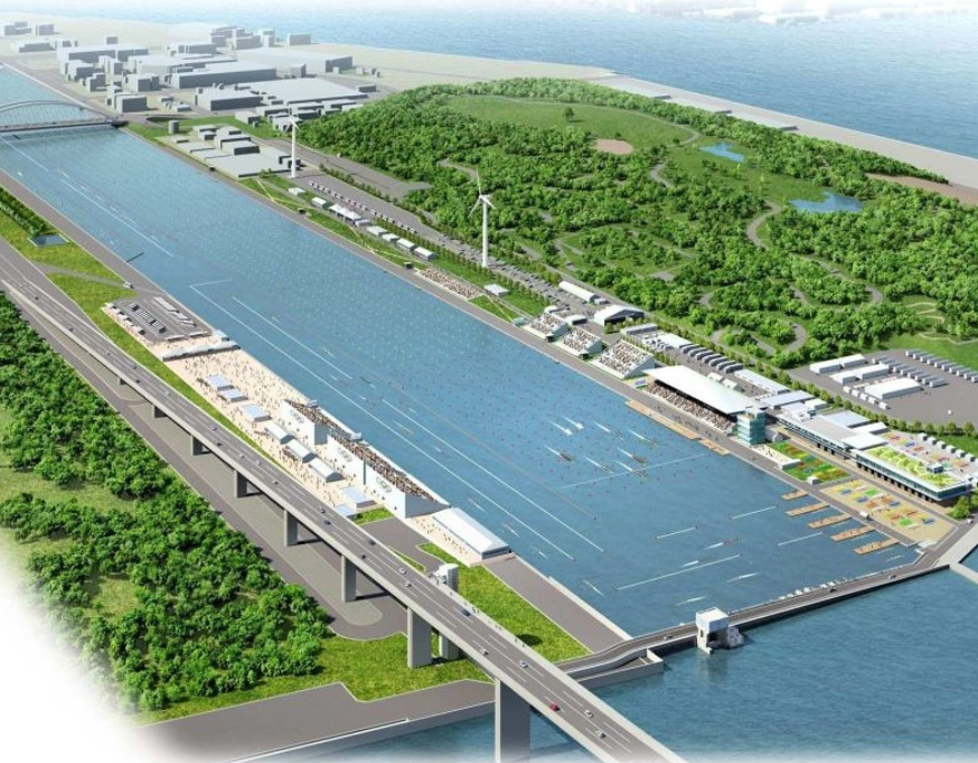 Sea Forest Waterway Tokyo 2020 Olympics