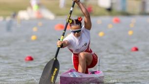 2019 ICF Canoe Sprint World Championships Szeged Hungary Alena NAZDROVA