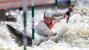 2021 ICF Canoe Slalom World Cup Prague Andrea HERZOG