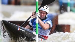 2021 ICF Canoe Slalom World Cup Markkleeberg Boris NEVEU