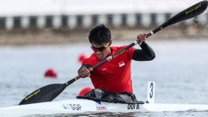 2021 ICF Canoe Sprint Olympic Qualifier Barnaul Brandon Wei Cheng OOI