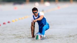 2021 Canoe Sprint European Olympic Qualifier Carlo TACCHINI