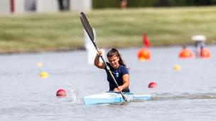 2021 Canoe Sprint European Olympic Qualifier Eleftheria KAMINARI