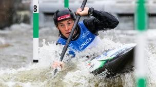 2019 ICF Canoe Slalom World Cup 5 Prague Eva TERCELJ