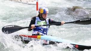 2021 ICF Canoe Slalom Junior & U23 World Championships Ljubjlana Evy Leibfarth