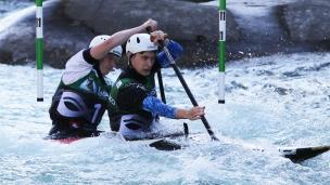 2021 ICF Canoe Slalom Junior & U23 World Championships Ljubjlana Fabijanski Bulera