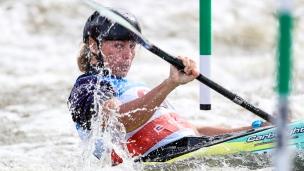 2019 ICF Canoe Slalom World Cup 5 Prague Florence MAHEU
