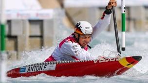 2019 ICF Canoe Slalom World Cup 1 London Franz ANTON Germany