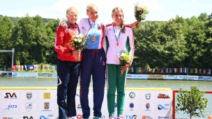 041 k1 junior women 1000m 2017 icf canoe sprint junior u23 world championships pitesti romania