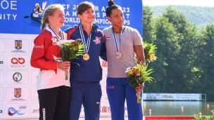 100 c1 junior women 200m 2017 icf canoe sprint junior u23 world championships pitesti romania