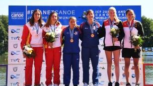 121 c2 junior women 200m 2017 icf canoe sprint junior u23 world championships pitesti romania