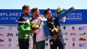 195 k1 u23 men 200m 2017 icf canoe sprint junior u23 world championships pitesti romania