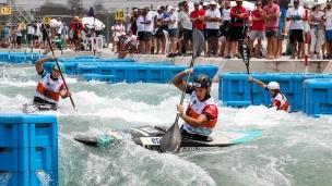 2018 ICF Canoe Slalom World Championships Rio Brazil K1 Women's Team France