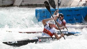 2018 ICF Canoe Slalom World Championships Rio Brazil K1 Men's Team France