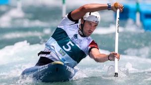 2018 ICF Canoe Slalom World Championships Rio Brazil Denis Gargaud Chanut FRA