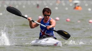2018 ICF Canoe Sprint World Cup 1 Szeged Hungary Emma Wiggs GBR