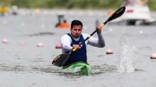 2018 ICF Canoe Sprint World Cup 1 Szeged Hungary Esteban G Farias ITA