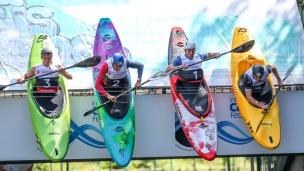 2018 ICF Canoe Slalom World Cup 3 Augsburg Germany Extreme Slalom