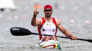 2018 ICF Canoe Sprint World Cup 1 Szeged Hungary Fernando Pimenta POR
