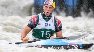 2018 ICF Canoe Slalom World Cup 2 Krakow Joseph CLARKE GBR
