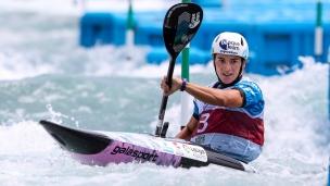 2018 ICF Canoe Slalom World Championships Rio Brazil Maialen Chourraut ESP