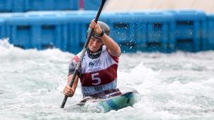 2018 ICF Canoe Slalom World Championships Rio Brazil Mallory Franklin GBR