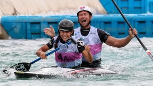 2018 ICF Canoe Slalom World Championships Rio Brazil Marcin Pochwala - Aleksandra Stach POL