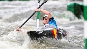 2018 ICF Canoe Slalom World Cup 2 Krakow Marta MARTINEZ ESP