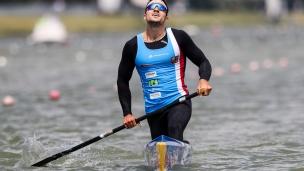 2018 ICF Canoe Sprint World Cup 1 Szeged Hungary Martin Fuksa CZE