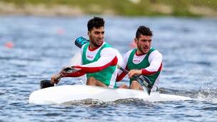 nasreddine baghdadi oussama djabali icf canoe kayak sprint world cup montemor-o-velho portugal 2017 137