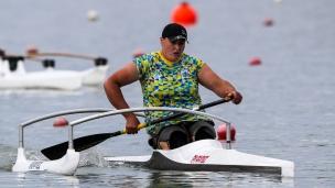 2018 ICF Canoe Sprint World Cup 1 Szeged Hungary Nataliia Lahutenko UKR