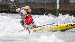 2018 ICF Canoe Slalom World Cup 3 Augsburg Germany Peter Kauzer SLO
