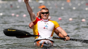 2018 ICF Canoe Sprint World Cup 1 Szeged Hungary R Germade - M Walz ESP