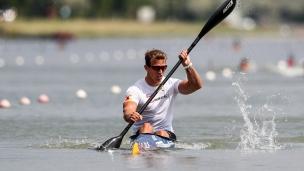 2018 ICF Canoe Sprint World Cup 1 Szeged Hungary René Holten Poulsen DEN