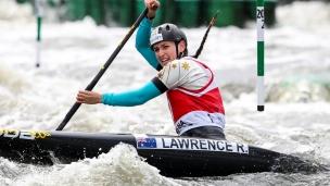 2018 ICF Canoe Slalom World Cup 2 Krakow Rosalyn LAWRENCE AUS