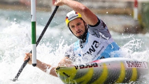 sebastian schubert icf canoe slalom world cup 2 augsburg germany 2017 010