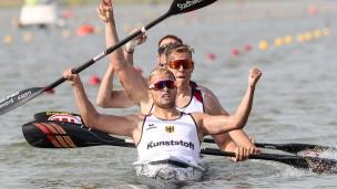 2019 ICF Canoe Sprint World Championships Szeged Hungary Germany K4 Men
