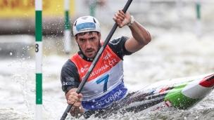 2021 ICF Canoe Slalom World Cup Prague Giovanni DE GENNARO