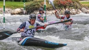 2019 ICF Canoe Slalom World Championships La Seu d'Urgell Spain Great Britain K1 Women's Team