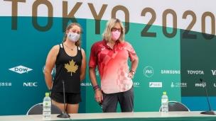 Tokyo 2020 Olympics Haley and Kimberley Daniels
