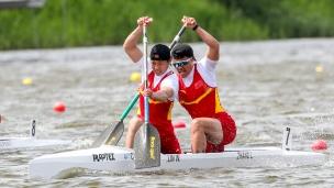 2019 ICF Sprint World Cup 1 Poznan Poland Hao LIU-Pengfei ZHENG China