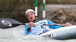 2020 ICF Canoe Slalom World Cup Ljubljana Slovenia Isak OHRSTROM