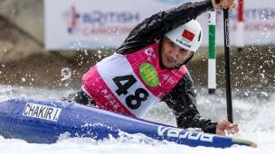 2019 ICF Canoe Slalom World Cup 1 London Issam CHAKIR Morocco