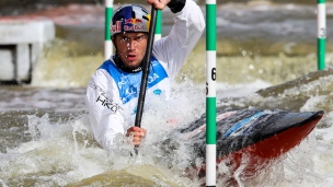 2019 ICF Canoe Slalom World Cup 5 Prague Jakub GRIGAR