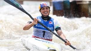 2021 ICF Canoe Slalom World Cup Markkleeberg Jessica FOX