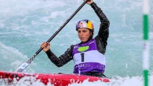 2019 ICF Canoe Slalom World Cup 1 London Jessica FOX Australia