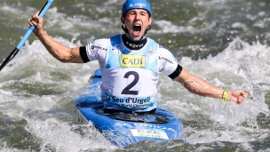 2019 ICF Canoe Slalom World Championships La Seu d'Urgell Spain Jiri PRSKAVEC
