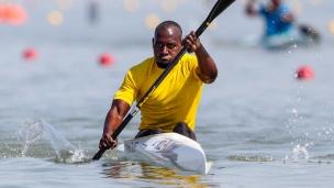 2019 ICF Canoe Sprint World Championships Szeged Hungary Joaquim MANHIQUE Mozambique