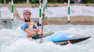 2019 ICF Canoe Slalom World Cup 1 London Joseph CLARKE Great Britain